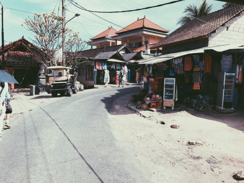 The Lembongan Streets